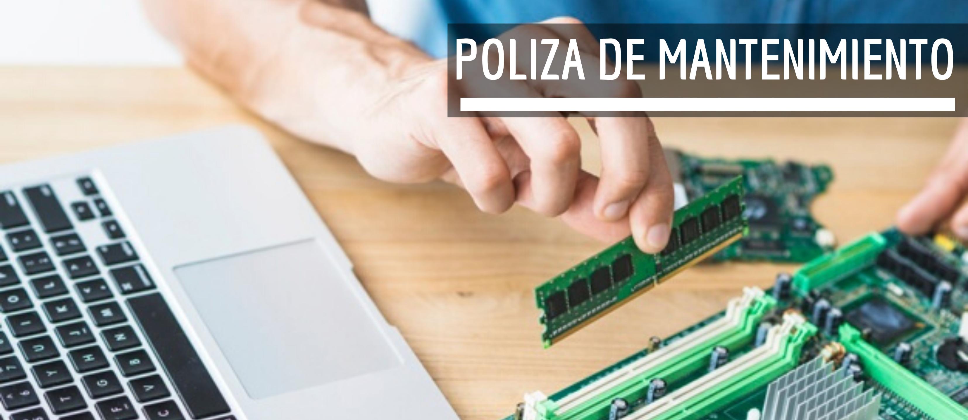 PÓLIZA DE MANTENIMIENTO